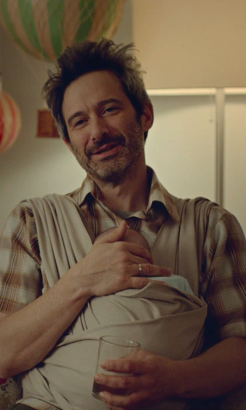 Adam Horovitz with Carhartt Bellevue Plaid Shirt in While We're Young