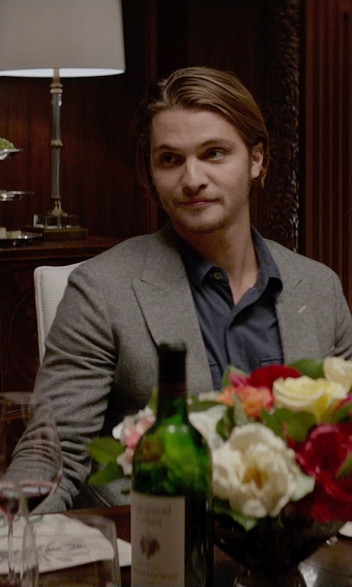 Luke Grimes with Cakebread Cellars Wine in Fifty Shades of Grey