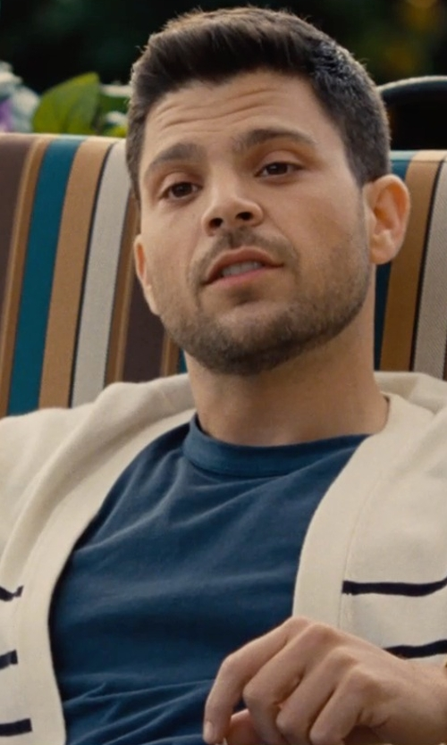 Jerry Ferrara with Ron Herman Cotton-Jersey T-Shirt in Entourage