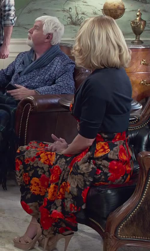 Unknown Actor with Pour La Victoire Yaya Dress Sandal in Dumb and Dumber To