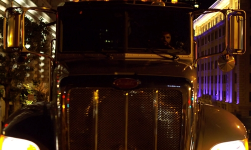 Chad Randall with Peterbilt 337 Truck in Need for Speed
