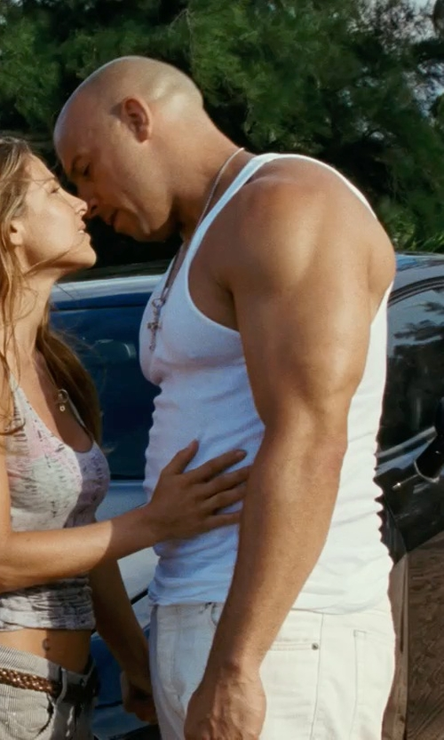 Vin Diesel with Dolce & Gabbana Classic Tank Top in Fast Five