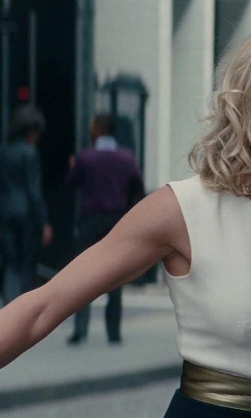 Cameron Diaz with Jennifer Fisher Xl Chainlink Cuff in The Other Woman