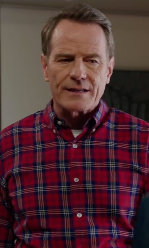 Bryan Cranston with AG Adriano Goldschmied Nimbus Shirt in Why Him?