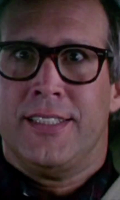 Chevy Chase with Polo Eyeglasses in Christmas Vacation