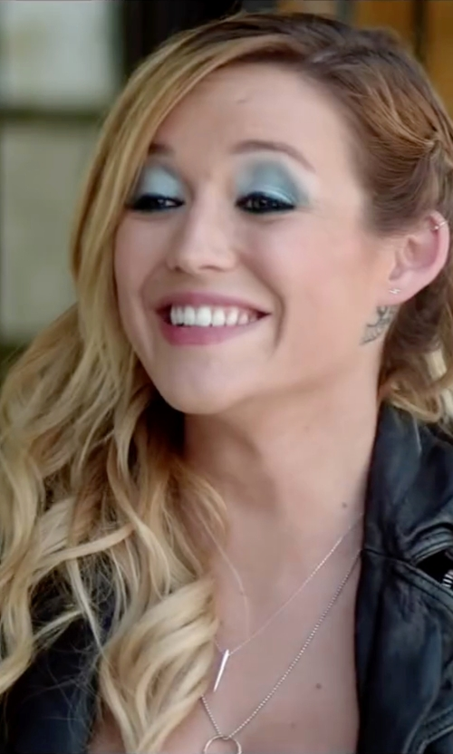Sarah Dumont with SunaharA Malibu Thin Ear Cuff in Scout's Guide to the Zombie Apocalypse