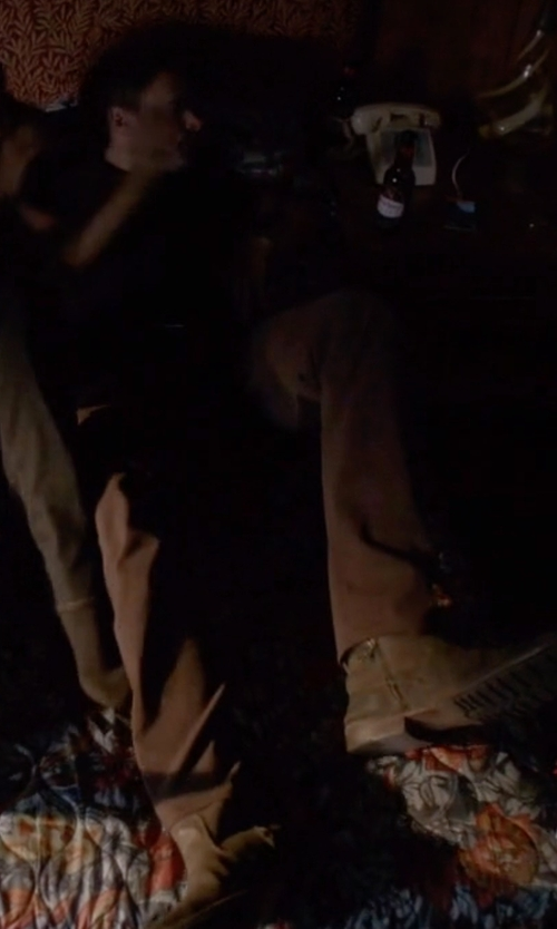 Scott Foley with Belstaff Attwell Suede Ankle Boots in Scandal
