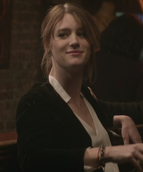 Mackenzie Davis with A.F. Vandevorst Blacksmith Blazer in That Awkward Moment