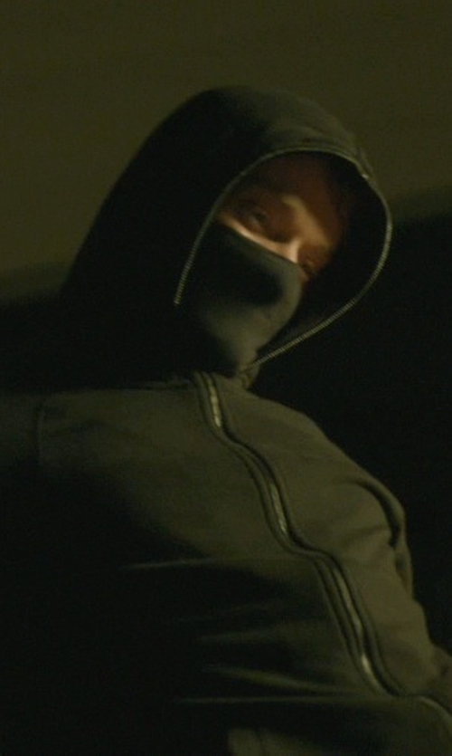 Alfie Allen with SK Hat Shop Men's Thermal Neoprene Warm Breathable Half Face Mask in John Wick
