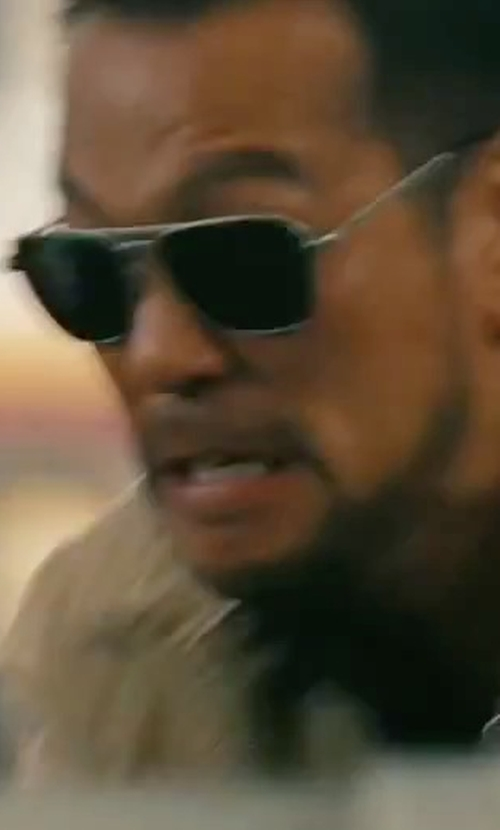 Louis Ozawa Changchien with Thom Browne Square Sunglasses in The Bourne Legacy