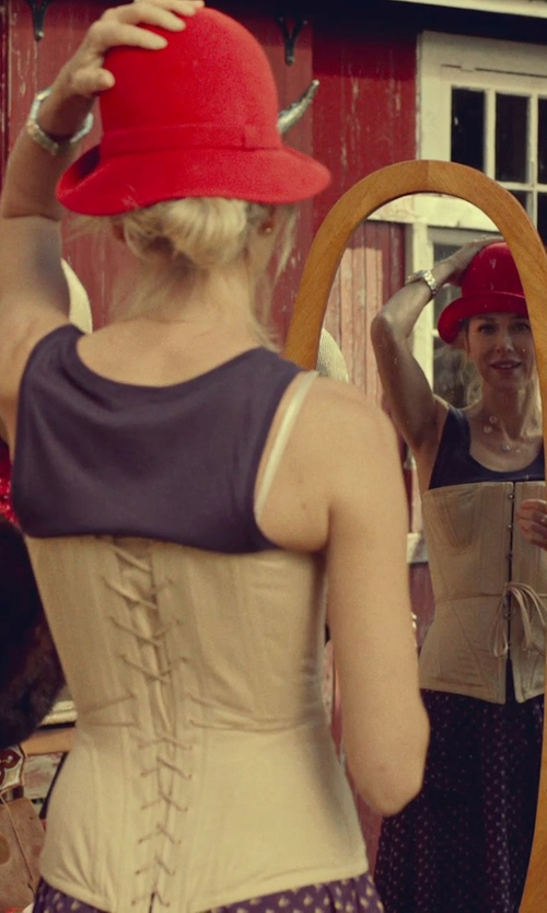 Naomi Watts with Marie Mercié Thelma Cloche Hat in While We're Young