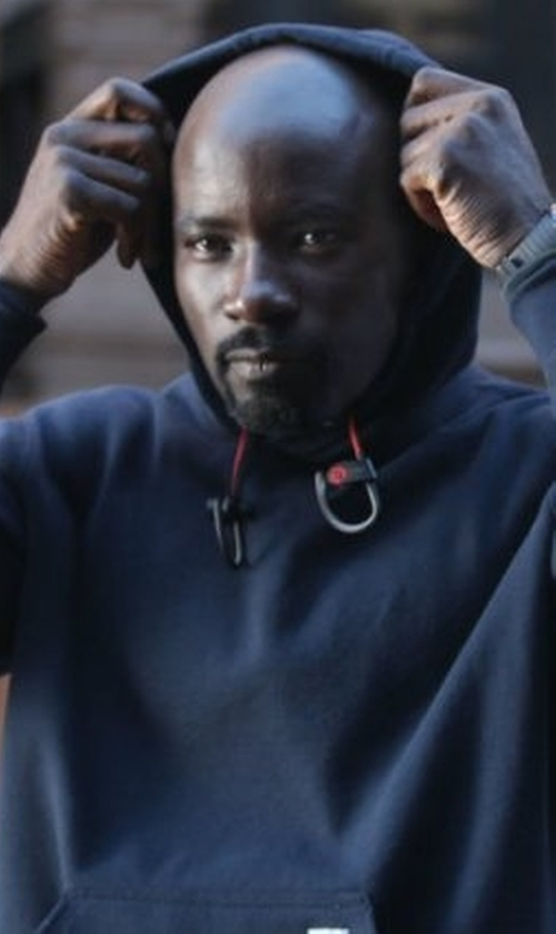 Mike Colter with Carhartt Midweight Hooded Pullover Sweatshirt in Marvel's Luke Cage
