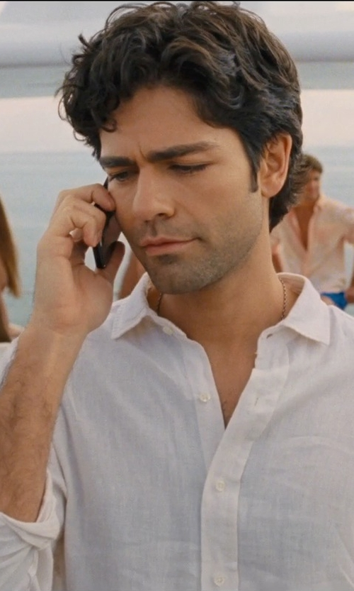 Adrian Grenier with Apple iPhone 6 in Entourage