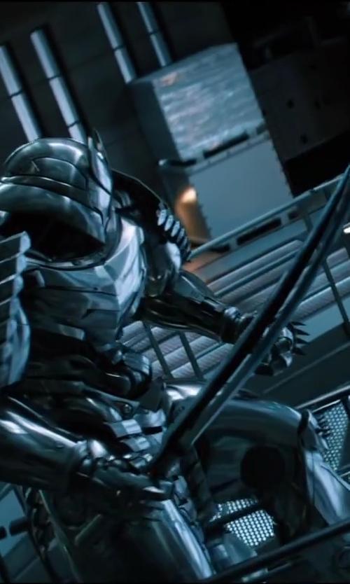 Hal Yamanouchi with Josh Nizzi (Concept Artist) Silver Samurai in The Wolverine