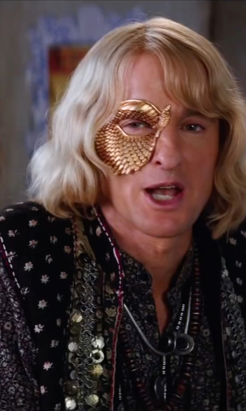 Owen Wilson with Bedwin & The Heartbreakers Owens Flower Shirt in Zoolander 2