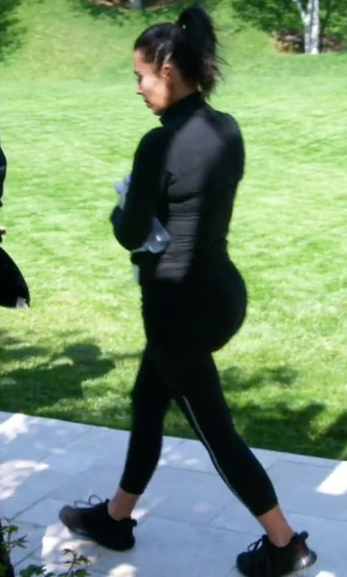 Kim Kardashian West with Adidas Yeezy Boost 350 Sneakers in Keeping Up With The Kardashians