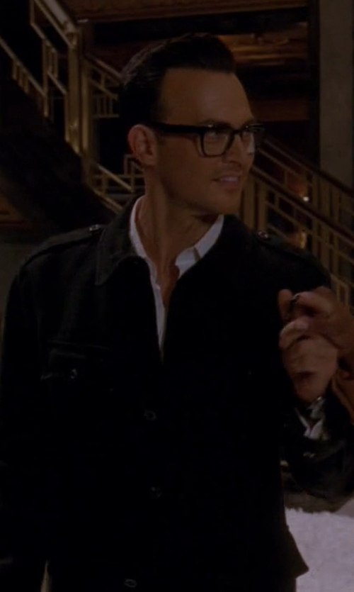 Cheyenne Jackson with Diesel S-Koi Shirt in American Horror Story
