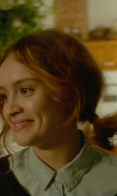 Olivia Cooke with Xacus Button Down Shirts in Me and Earl and the Dying Girl