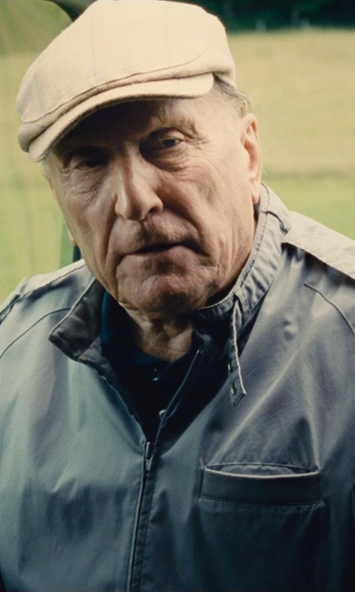 Robert Duvall with Members Only Iconic Classic Racer Jacket in The Judge
