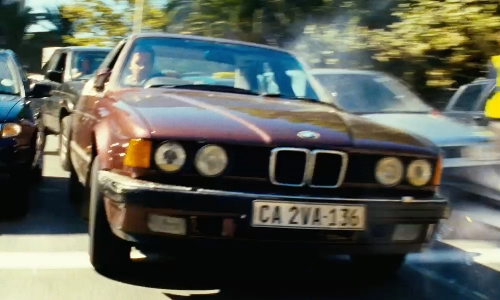 Ryan Reynolds with BMW 1987 735i Sedan in Safe House