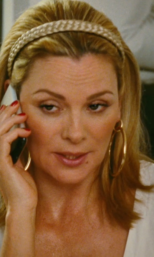Kim Cattrall with Apple iPhone 3G in Sex and the City