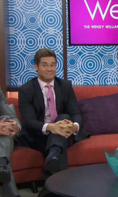 Adam DeVine with Versace Collection City Fit Basic Suit in Mike and Dave Need Wedding Dates