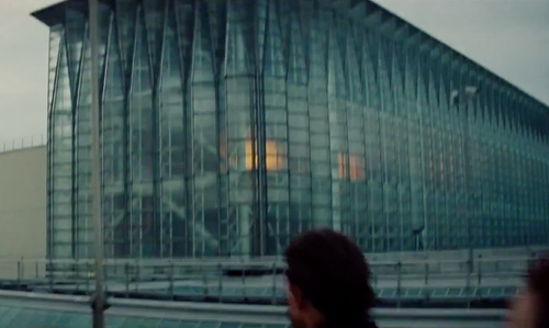 Unknown Actor with Fawley Power Station Southampton, England in Mission: Impossible - Rogue Nation