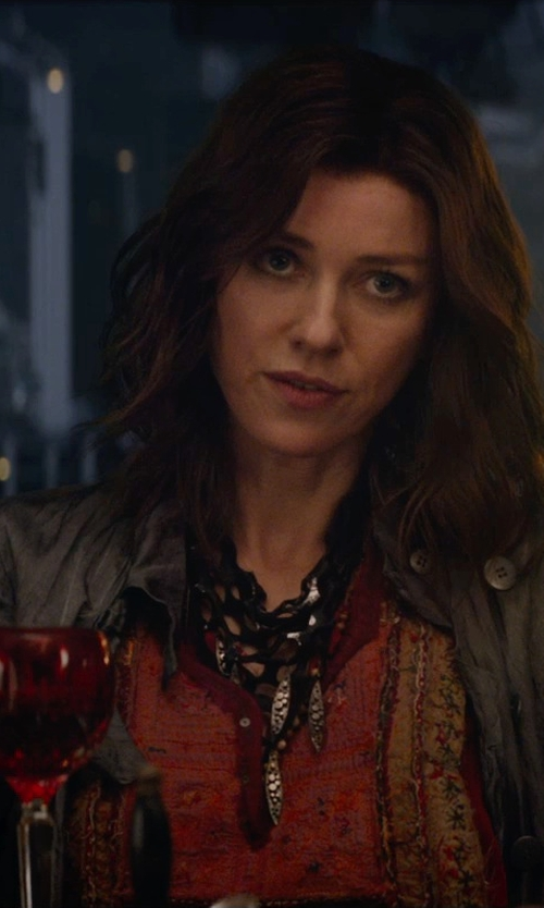 Naomi Watts with Lucky Brand Kenna Embroidered Top in The Divergent Series: Insurgent