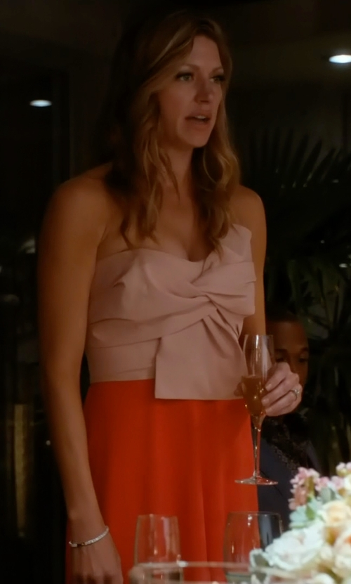 Jes Macallan with Shakuhachi Fara Bow Dress in Mistresses