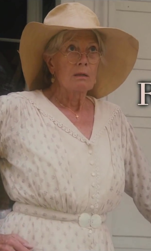 Vanessa Redgrave with Kerry Cassill Shirt Dress in Lee Daniels' The Butler