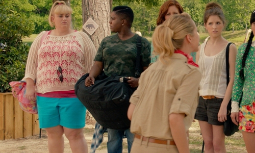 Rebel Wilson with Eloquii Shorts in Pitch Perfect 2