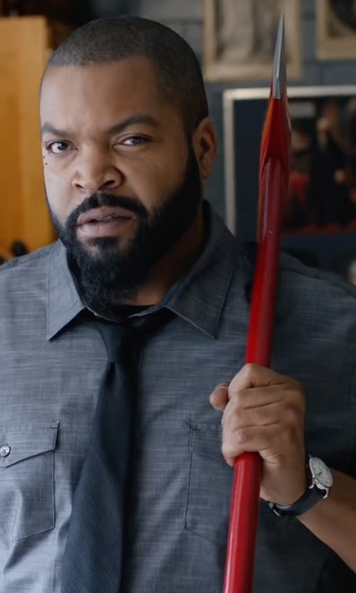 Ice Cube with Burberry Sunray Dial Check Watch in Fist Fight