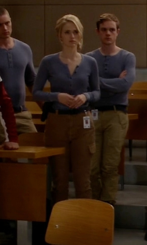 Johanna Braddy with Prana Elena Pants in Quantico