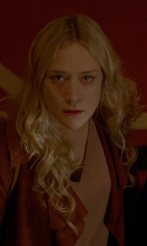 Chloë Sevigny with La Marque Lambskin Leather Moto Jacket in American Horror Story