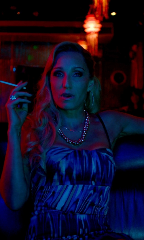 Kristin Scott Thomas with Majorica Baroque Pearl Necklace in Only God Forgives