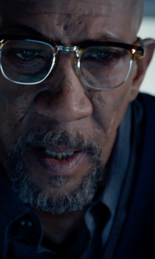 Reg E. Cathey with Acne Studios Fine-Knit Merino Wool Cardigan in Fantastic Four