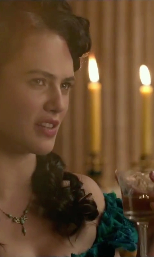 Jessica Brown Findlay with Workhorse Virginia Ring in Victor Frankenstein