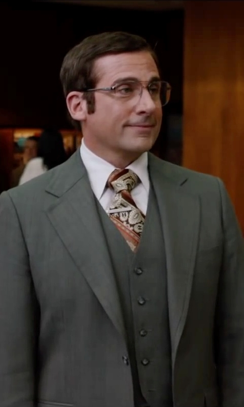 Steve Carell with Alfa Romeo Vintage Aviator-style Glasses in Anchorman 2: The Legend Continues