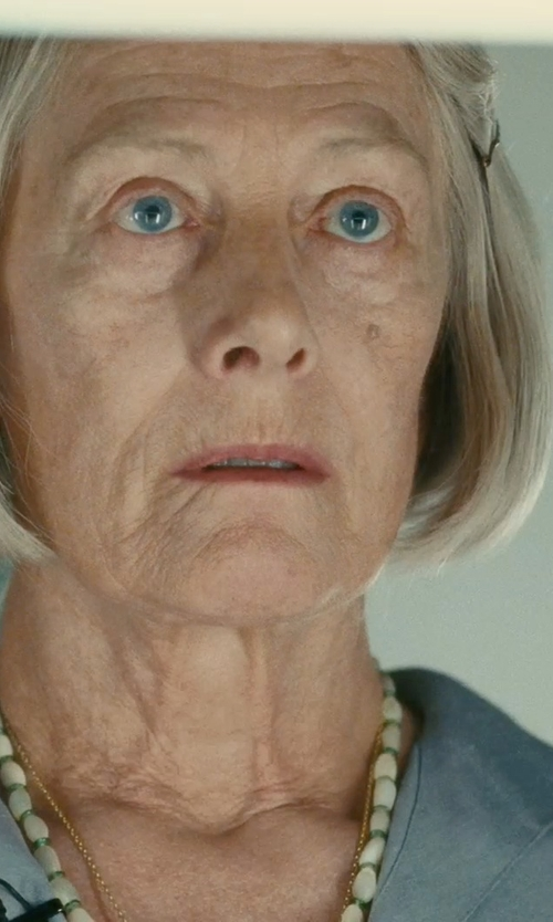 Vanessa Redgrave with Freida Rothman 'Metropolitan' Pendant Necklace in Atonement