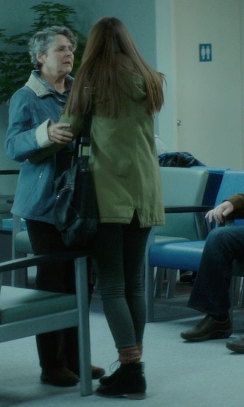 Liana Liberato with Dr. Martens Lace Up Boots in If I Stay