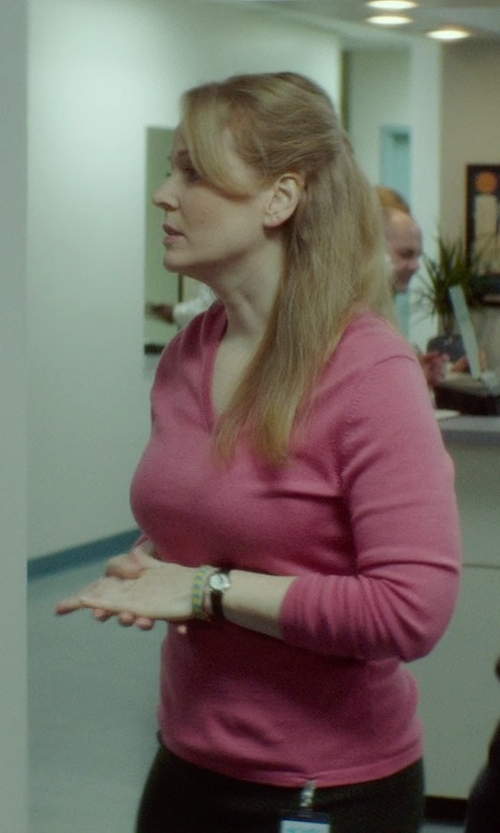 Chelah Horsdal with Timex 'Easy Reader' Leather Strap Watch in If I Stay