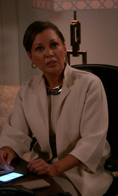 Vanessa Williams with Haider Ackermann Double Breasted Blazer in The Good Wife