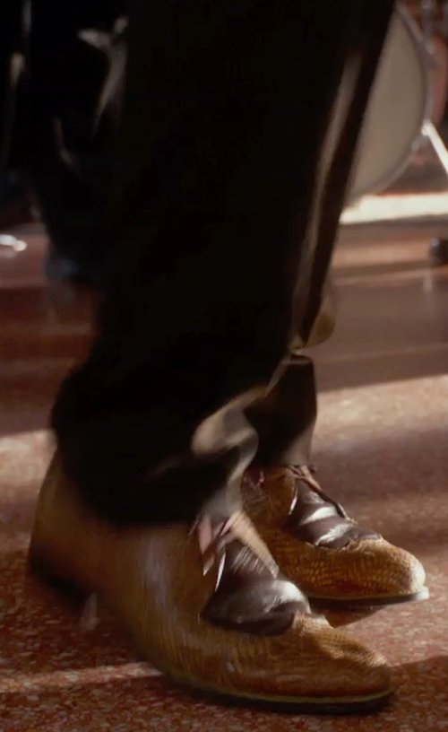 Chadwick Boseman with Steve Madden Hasten Oxfords in Get On Up