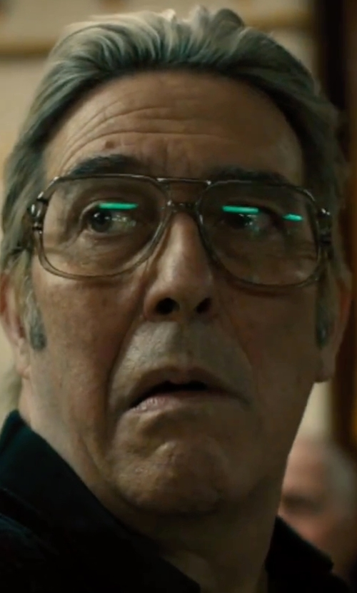 Ciarán Hinds with Oliver Peoples Optical Glasses in Bleed for This