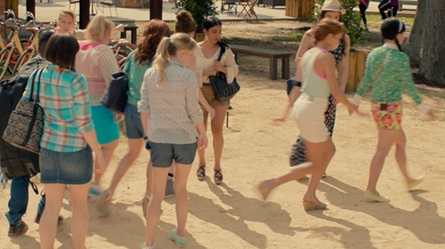 Hana Mae Lee with Keds Crash-Back Zig Zag Sneaker in Pitch Perfect 2