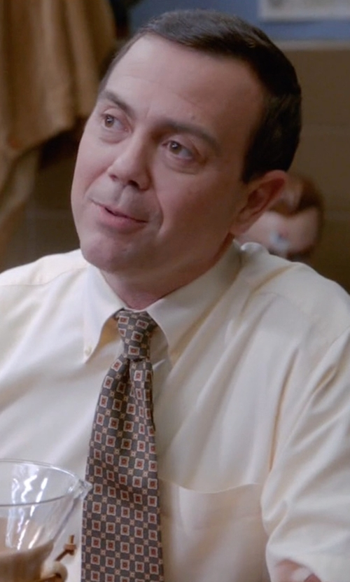 Joe Lo Truglio with Nordstrom Claridge Square Silk Tie in Brooklyn Nine-Nine