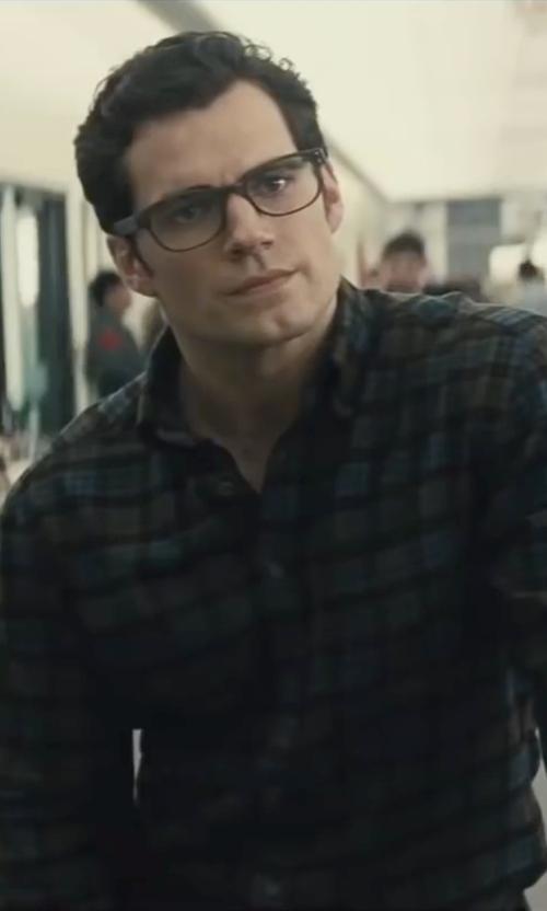 Henry Cavill with Tom Davies Custom Bespoke Eyeglasses in Batman v Superman: Dawn of Justice