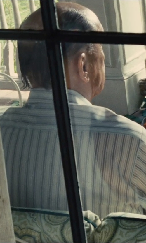 Robert Duvall with Volcom Men's Weirdoh Stripe Short Sleeve in The Judge