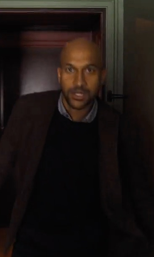 Keegan-Michael Key with Bonobos The Unconstructed Italian Wool Blazer in Friends From College