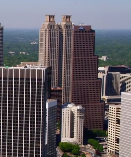 Unknown Actor with 191 Peachtree Tower Atlanta, Georgia in Ride Along 2